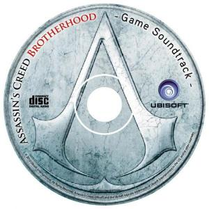 Assassin's Creed: Brotherhood Game Soundtrack. Disc. Click to zoom.