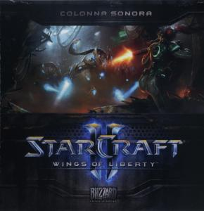 StarCraft II: Wings of Liberty Colonna Sonora. Booklet Front. Click to zoom.