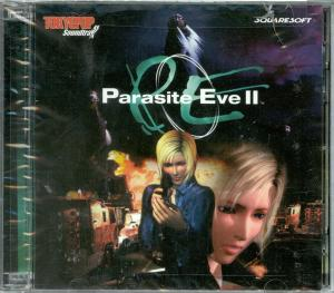 Parasite Eve II Original Soundtrack. Case Front. Click to zoom.
