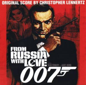 007 From Russia With Love - Original Score. Front. Click to zoom.