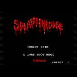 Splatterhouse Original Soundtrack. Front (small). Click to zoom.