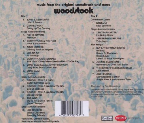 Music From The Original Soundtrack And More Woodstock
