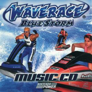 Waverace -BlueStorm- Music CD. Front. Click to zoom.