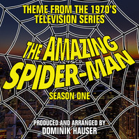 "Main Title: Season 1 From ""The Amazing Spider-Man"" - Single. Передняя обложка. Click to zoom."