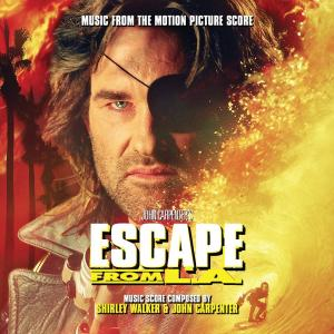 Escape from L.A. Music from The Motion Picture Score. Лицевая сторона. Click to zoom.
