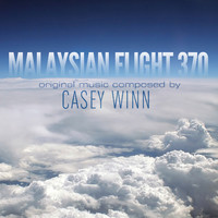 Malaysian Flight 370 - Single. Передняя обложка. Click to zoom.