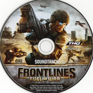 Frontlines: Fuel of War Soundtrack. Disc. Click to zoom.