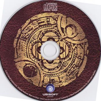 Might & Magic X: Legacy Original Soundtrack. Disc. Click to zoom.
