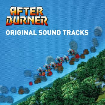 After Burner Original Sound Tracks. Front. Click to zoom.