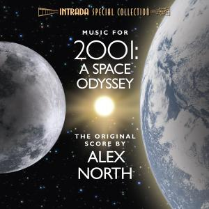 2001: A SPACE ODYSSEY - THE ORIGINAL SCORE. Лицевая сторона. Click to zoom.