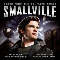 Smallville Score from the Complete Series. Передняя обложка. Click to zoom.