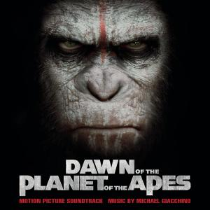 Dawn of the Planet of the Apes Original Motion Picture Soundtrack. Лицевая сторона. Click to zoom.