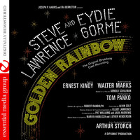 Golden Rainbow Featuring Steve Lawrence & Eydie Gorme The Original Broadway Cast Recording Remastered. Передняя обложка. Click to zoom.