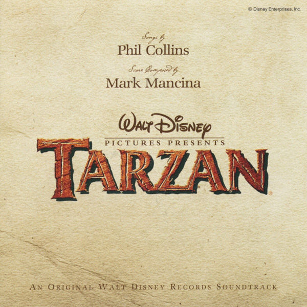Tarzan Soundtrack From The Motion Picture
