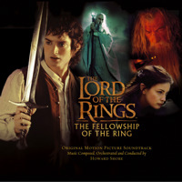 Lord of the Rings: The Fellowship of the Ring Original Motion Picture Soundtrack. Передняя обложка. Click to zoom.