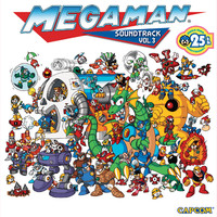 Mega Man Soundtrack Vol. 3. Передняя обложка. Click to zoom.