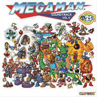 Mega Man Soundtrack Vol. 4. Передняя обложка. Click to zoom.