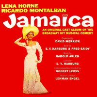 Jamaica Original Soundtrack Recording. Передняя обложка. Click to zoom.