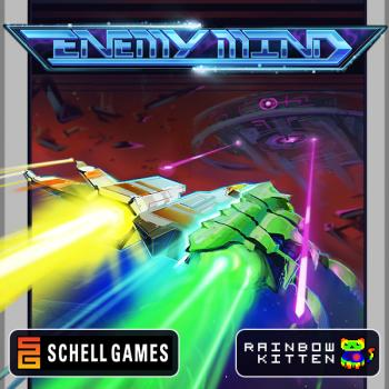 Enemy Mind Original Soundtrack. Front. Click to zoom.