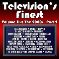 Television's Finest: Vol. Six - The 2000s Pt. 2. Передняя обложка. Click to zoom.
