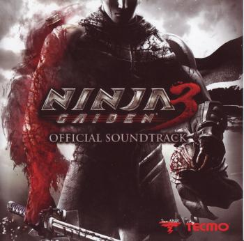 NINJA GAIDEN 3 Official Soundtrack. Front. Click to zoom.