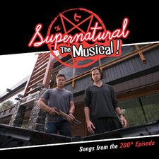 Supernatural: The Musical Songs from the 200th Episode. Передняя обложка. Click to zoom.