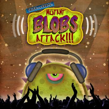 Tales from Space: Mutant Blobs Attack OST. Front. Click to zoom.