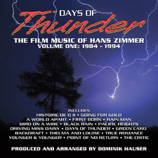 Days of Thunder: The Film Music of Hans Zimmer Vol. 1 1984-1994. Передняя обложка. Click to zoom.