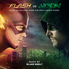 Flash vs. Arrow Music Selections from the Epic 2-Night Event, The. Передняя обложка. Click to zoom.