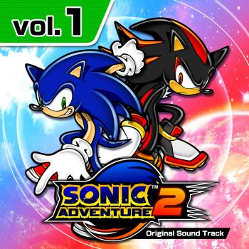 Sonic Adventure 2 Original Soundtrack Vol. 1. Front. Click to zoom.