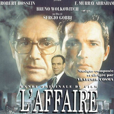 L'affaire Bande originale du film de Sergio Gobbi. Передняя обложка. Click to zoom.