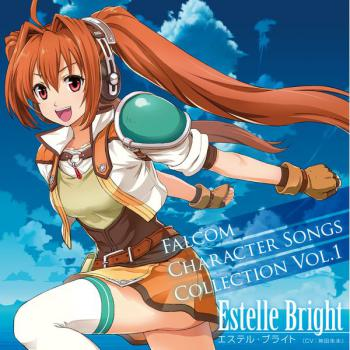 Falcom Character Songs Collection Vol.1 Estelle Bright. Front. Click to zoom.