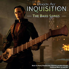 Dragon Age: Inquisition - The Bard Songs. Передняя обложка. Click to zoom.