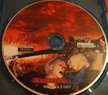 Devil May Cry 4 Muzyka z Gry. Disc. Click to zoom.