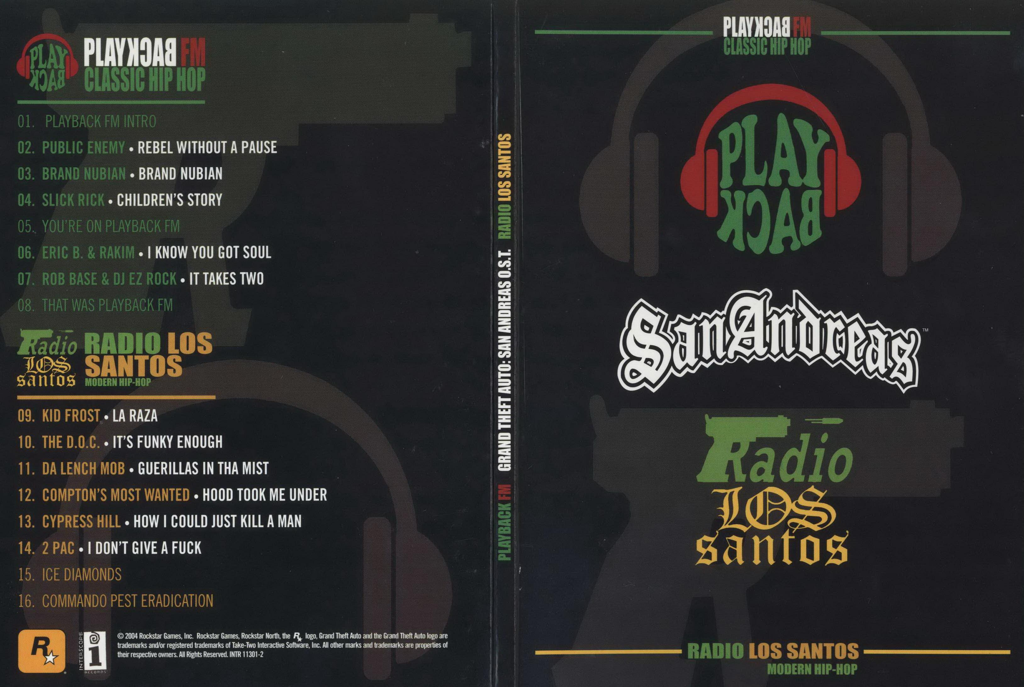 Grand Theft Auto: San Andreas Official Soundtrack Box Set. Soundtrack from Grand Theft Auto: San ...