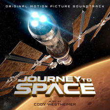 Journey to Space Original Motion Picture Soundtrack. Передняя обложка. Click to zoom.
