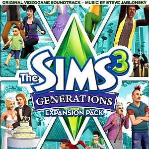 Sims 3: Generations Original Videogame Soundtrack, The. Лицевая сторона . Click to zoom.