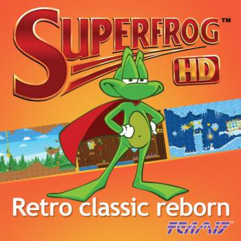 Superfrog HD Soundtrack. Front. Click to zoom.