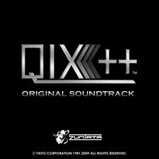 Qix++ Original Soundtrack. Передняя обложка. Click to zoom.