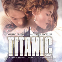 Titanic Music from the Motion Picture. Передняя обложка. Click to zoom.