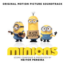 Minions Original Motion Picture Soundtrack. Передняя обложка. Click to zoom.
