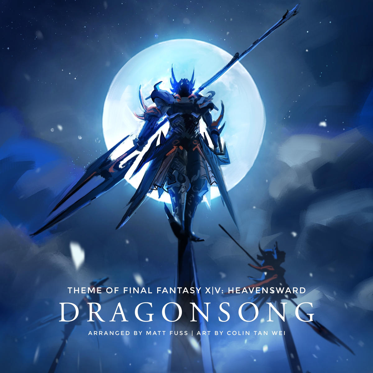 Dragonsong Main Theme of Final Fantasy XIV: Heavensward Piano Cover