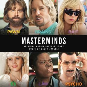 Masterminds Original Motion Picture Soundtrack. Лицевая сторона . Click to zoom.