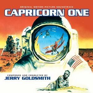 Capricorn One Original Motion Picture Soundtrack. Лицевая сторона. Click to zoom.