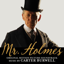 Mr. Holmes Original Motion Picture Soundtrack. Передняя обложка. Click to zoom.