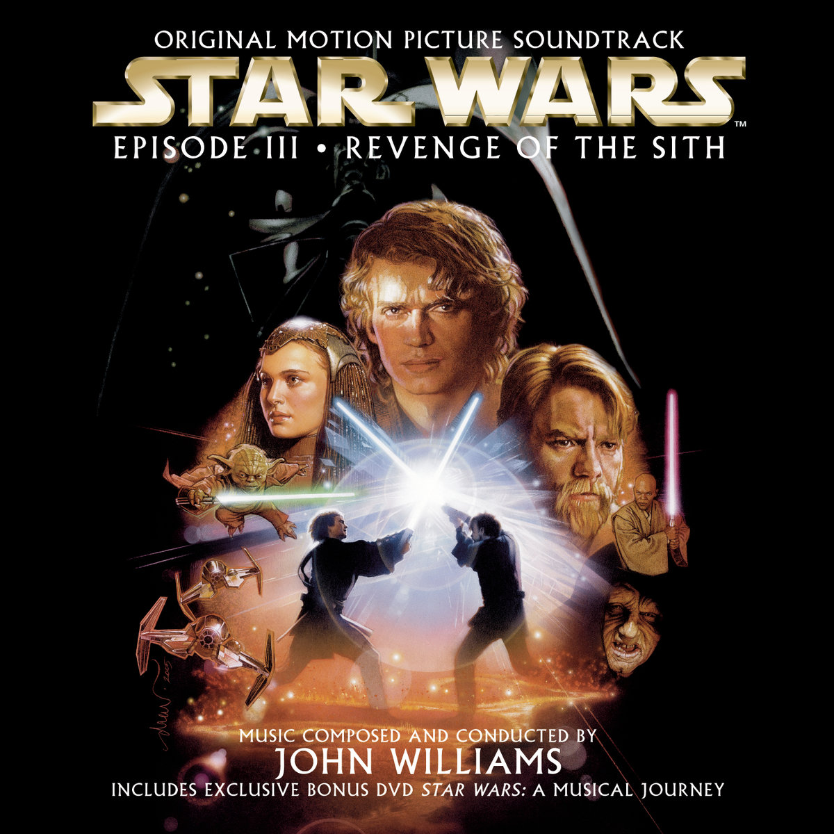 Star Wars Episode III: Revenge of the Sith Original Motion Picture Soundtrack										Звездные войны: Эпизод 3 - Месть Ситхов 								Popuplar