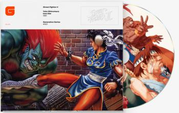 Street Fighter II The Definitive Soundtrack. Front (sample). Click to zoom.