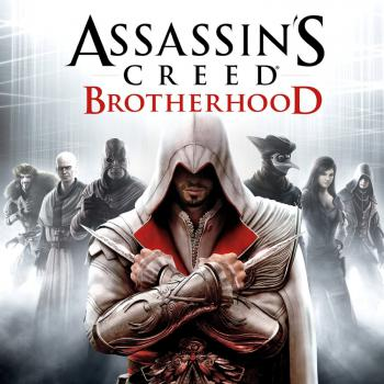 Assassin's Creed Brotherhood. Front. Click to zoom.