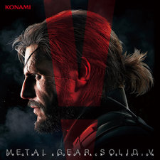 Metal Gear Solid V Original Soundtrack Selection. Передняя обложка. Click to zoom.