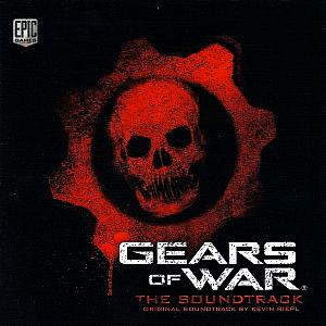Gears of War The Soundtrack. Лицевая сторона. Click to zoom.